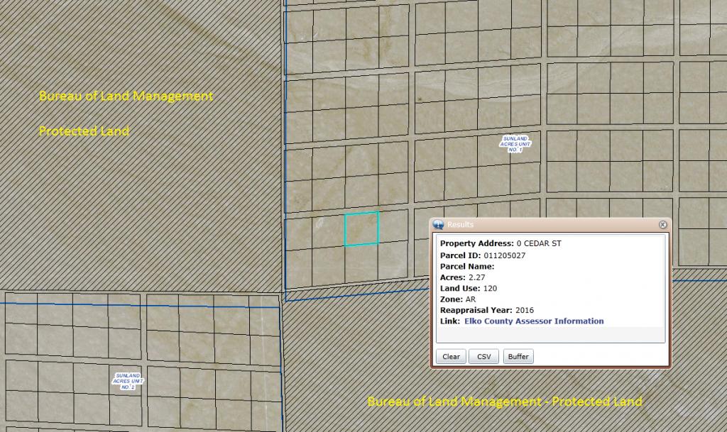 Elko APN 011-205-027 GIS